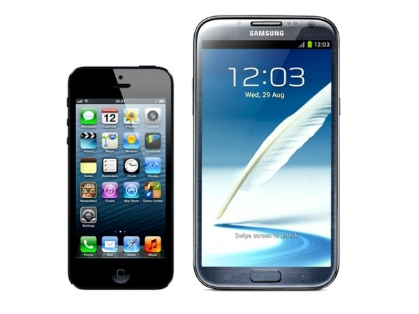 Iphone 5 ou Samsung galaxy?